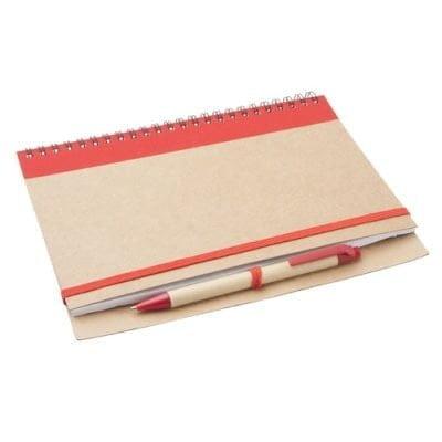 Ekoman Reciklirana beležnica s pisalom – barvna A5