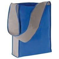 Netkano blago Dvobarvna torba za čez ramo – netkano blago