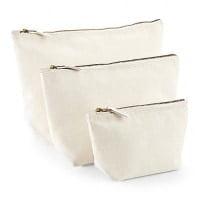 Ekoman Kozmetična torbica z razširjenim dnom – tri velikosti