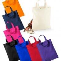 Bombaž Mini nakupovalna vrečka