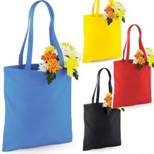 Bombaž Nakupovalna vrečka v številnih barvah
