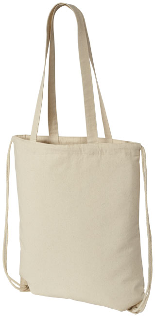 All products Eliza cotton drawstring backpack