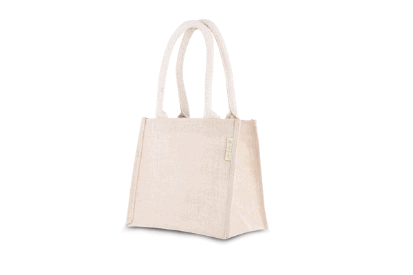 All products Bag made from jute and cotton – small