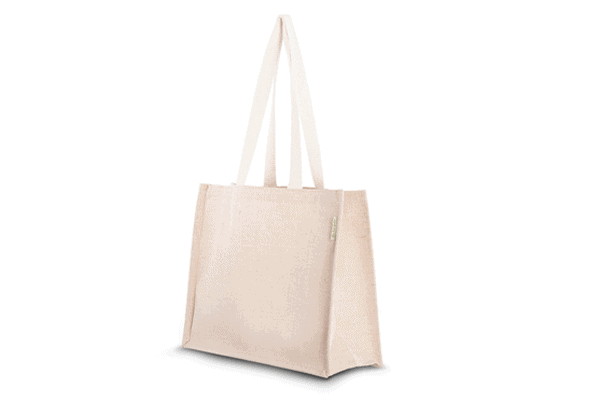 All products Bag made from jute and cotton – Sunflower