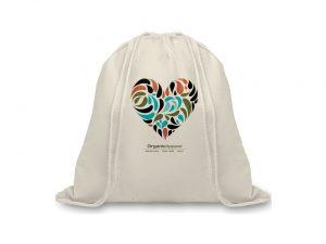 All products Organic cotton drawstring bag