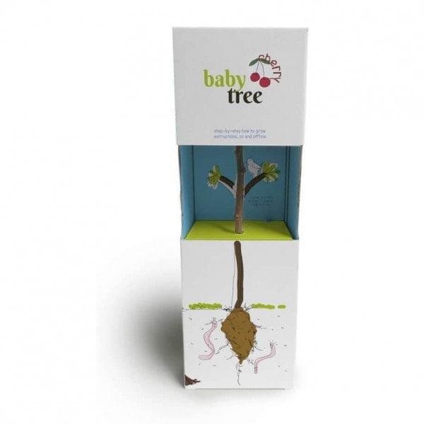 Cvetlični lončki, škatlica, korito Baby tree – posadi svoje drevo