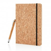 All products Cork notebook and pen set