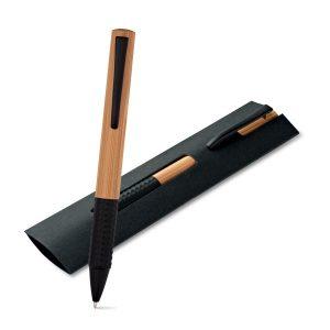 Ekoman Pisalo iz bambusa v črnem ovitku