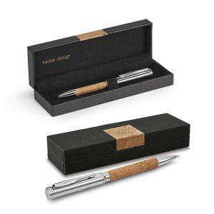 Pisala Pisalo – kombinacija plute in kovine v darilni škatlici