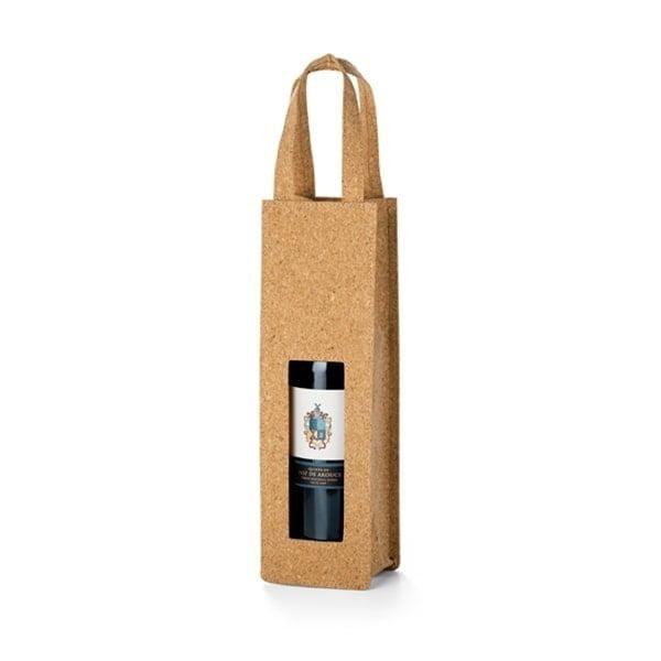 Cork BORBA. Wine bag (1 bottle).
