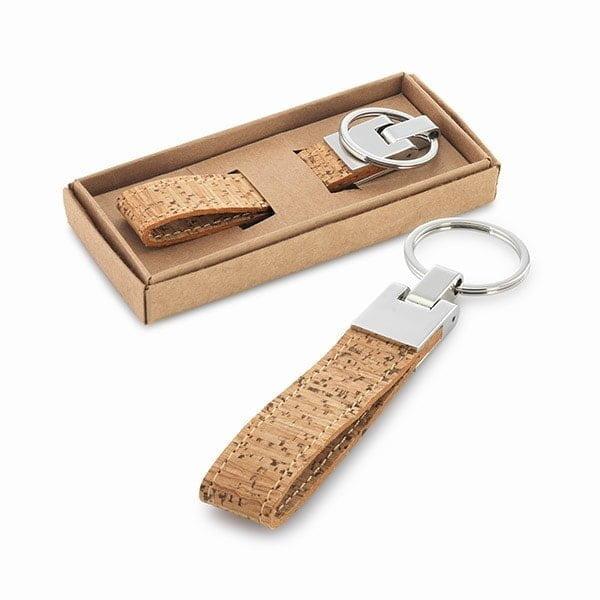 Obeski Obesek za ključe iz plute