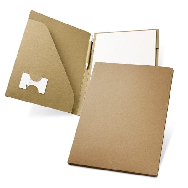 Ekoman Mapa A4 (20 listov iz recikliranega papirja + pisalo)