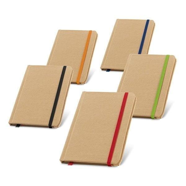 Notesi Blok z barvno elastiko