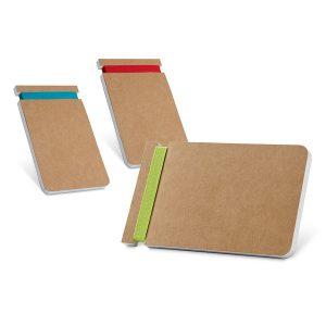Notesi Blok z barvno elastiko pri strani