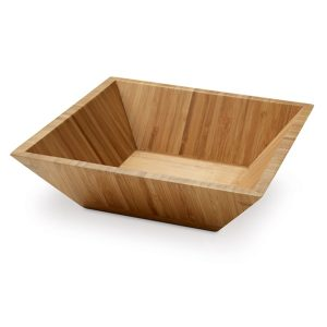 Kuhinja Posoda za solato iz bambusa