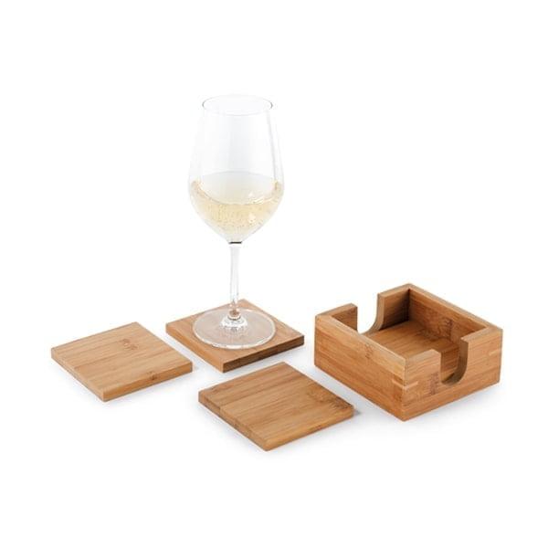 Kuhinja Podstavki za kozarce iz bambusa