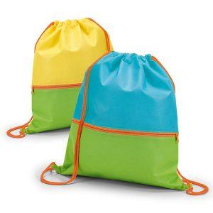 Nahrbtniki Dvobarvni nahrbtnik za otroke z dodatnim žepom na zadrgo