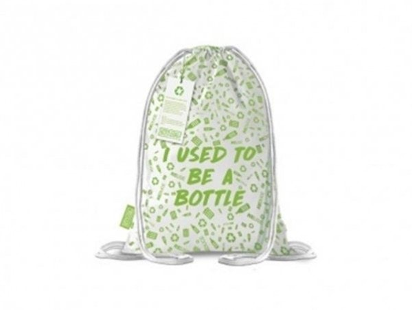 All products Backpack made from recycled plastic bottles