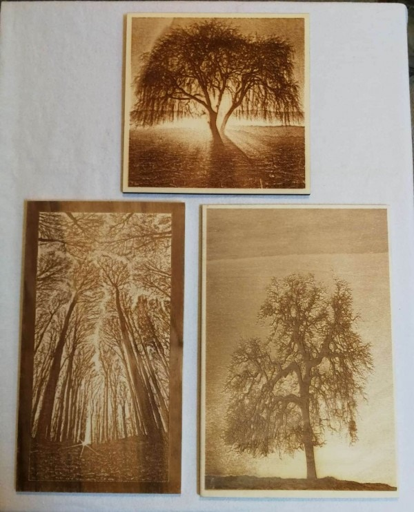 All products Laser engraved wood images