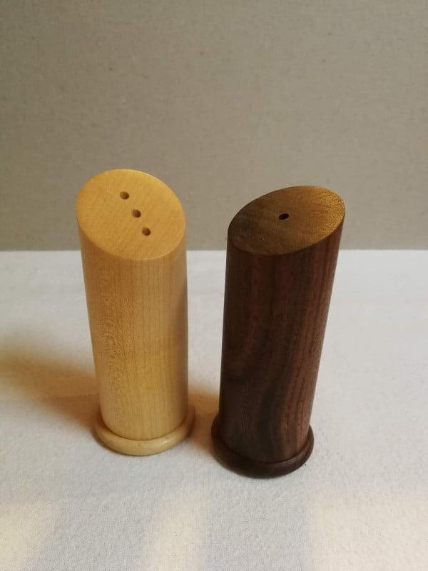 All products Handmade salt (maple) and pepper (walnut) set