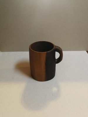Ethnological Gifts Handmade wooden mug modeled on a template from the National Museum