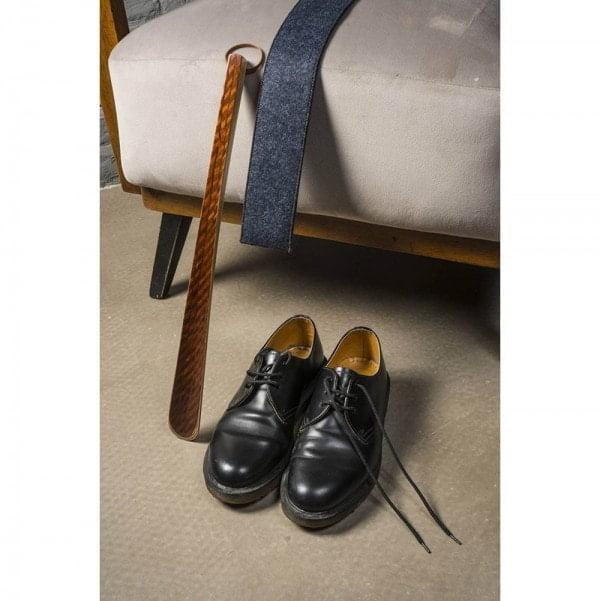 Ekoman Lesena žlica za obuvanje