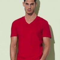 Majice Moška majica iz eko bombaža – V izrez