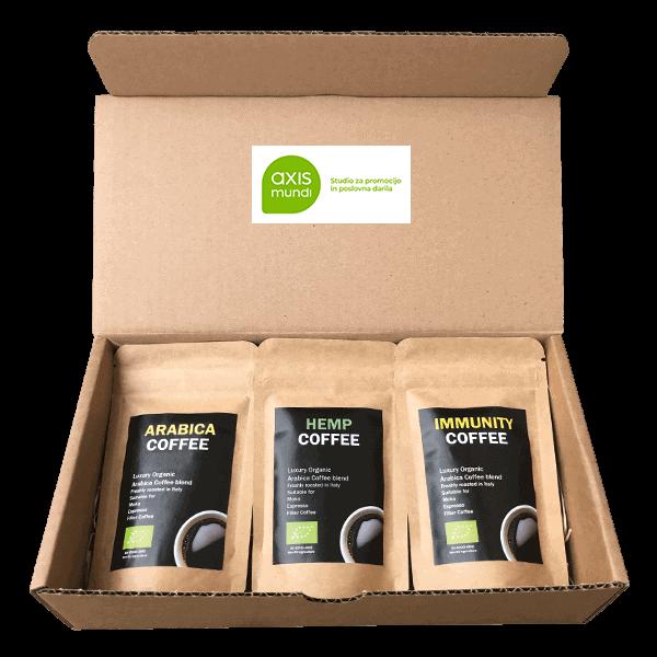 Ekoman Bio kava – darilni komplet