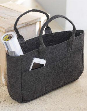 Felt Pocket felt shopping bag