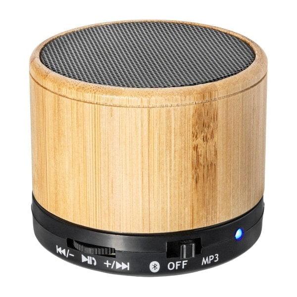 Brezžični zvočniki Zvočnik z ovojem iz bambusa