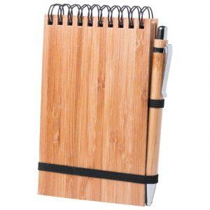 Ekoman Set bloka in pisala iz bambusa