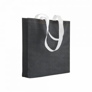 Denim Nakupovalna vrečka – jeans efekt