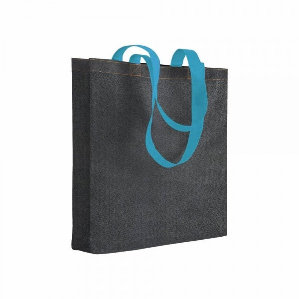 Denim Non woven shopping bag – jeans effect