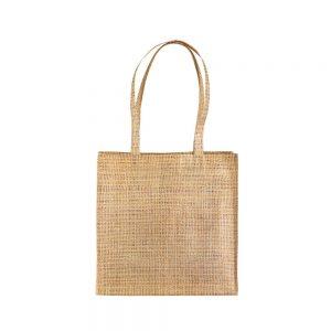 Denim Nakupovalna vrečka – juta efekt