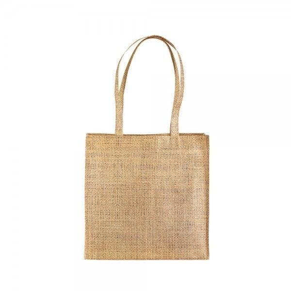 Denim Non woven shopping bag – jute effect