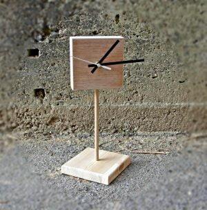 Wood Wooden clock Loli C'lock