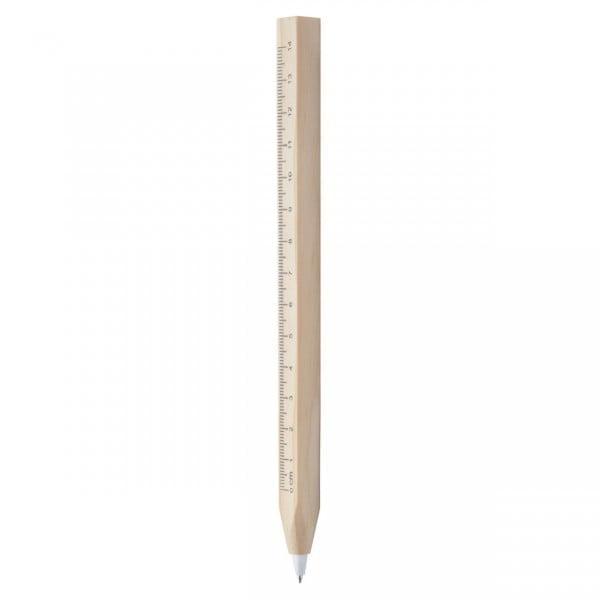 Ekoman Lesen kemični svinčnik z ravnilom