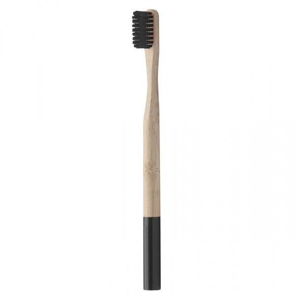 Dodatki Bambusova ščetka z barvastim ročajem