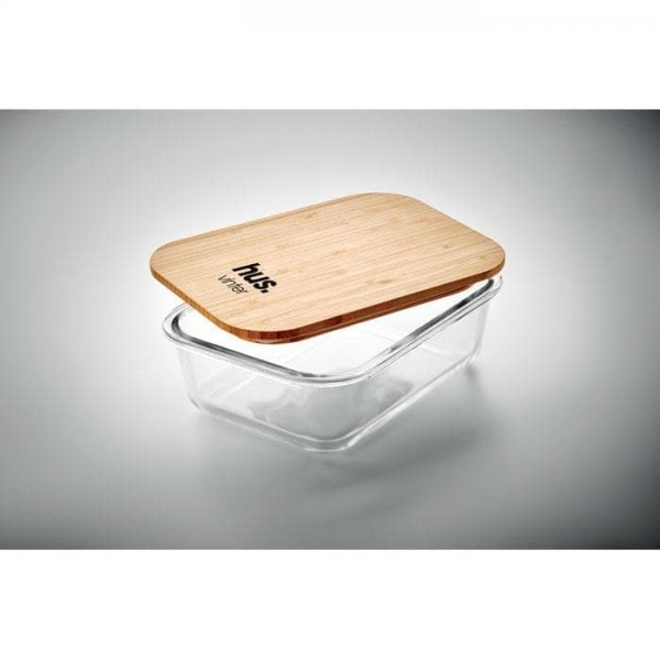 All products Glass lunchbox with bamboo lid