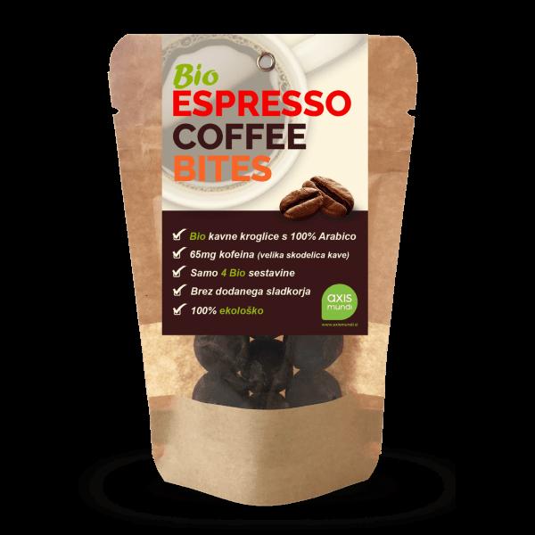 Sladki prigrizki Bio kavne kroglice Espresso