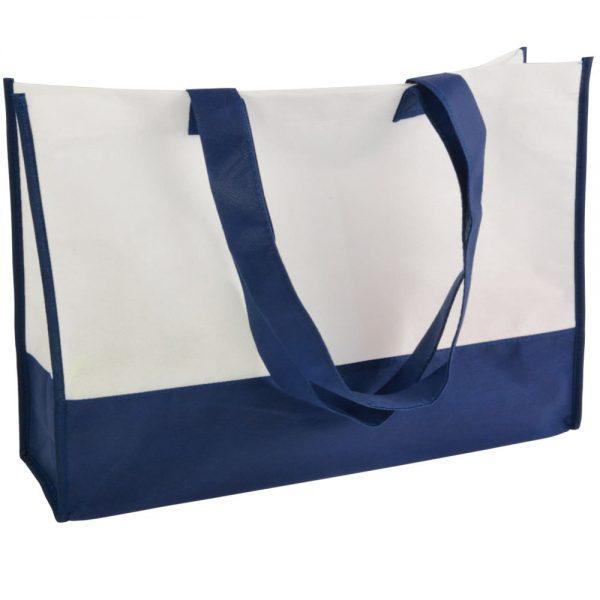 Netkano blago Dvobarvna nakupovalna vrečka