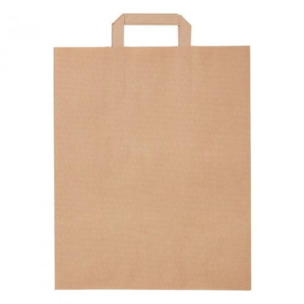 Papir Vrečka iz recikliranega papirja velika