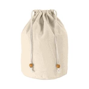 Kozmetične torbice Bombažna toaletna torbica z zateznimi vrvicami