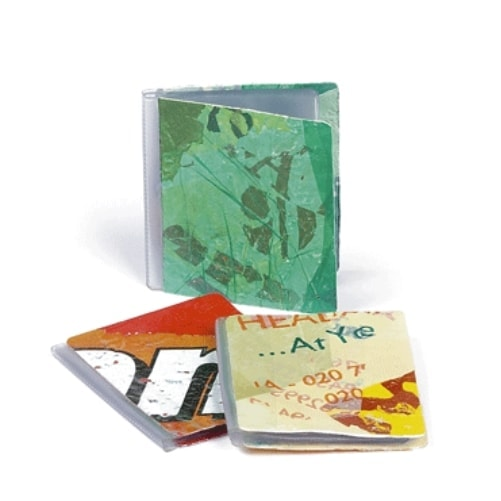 Predalniki in darilni seti Ovitek za kreditne kartice iz recikliranih plastičnih vrečk