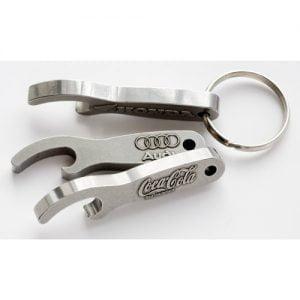 Keyrings Steel pendant Opener