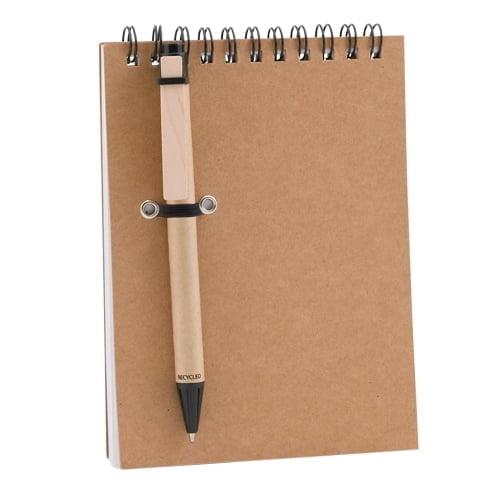 Notesi Reciklirana beležnica s pisalom