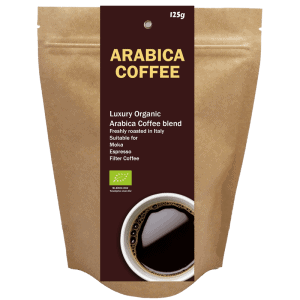 All products Organic Arabica coffee, 125 g