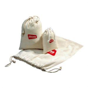 Bombaž Bombažna vrečka z vrvico – M