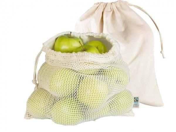 Bags for Food Cotton grocery bag Organika