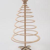 Ekoman Spiralna lesena novoletna smreka – Mala